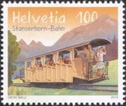 Switzerland 2018 Trains/ Railway/ Electric Rail Car/ Locomotive/ Transport 1v (ch1049)