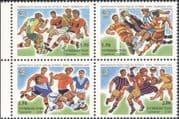 Tajikistan 2006 Football World Cup Championships/ WC/ Soccer/ Sports/ Games 4v blk (b2060k)