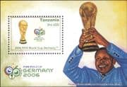 Tanzania 2006 Football World Cup Championships/ WC/ Soccer/ Sports 1v m/s (n33710)