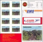 Tanzania 2011  Tourism/ Giraffes/ Animals/ Nature/ Wildlife/ National Park  8v s/a bklt (b6002j)