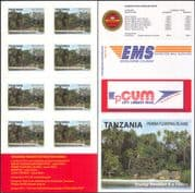 Tanzania 2011 Tourism/ Pemba/ Forest/ Nature/ Trees/ Houses/ Buildings  8v s/a bklt (b6002f)