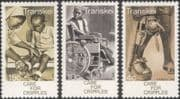 Transkei 1978 Medical/ Health/ Welfare/ Disabled/ Wheelchair/ Nurse 3v set (n26207)