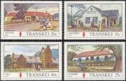 Transkei 1983 Post Offices/ Buildings/ Architecture/ Post Office/ Mail 4v set (b9977f)