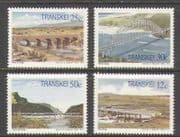 Transkei 1985 Bridges  /  Rivers 4v set (n21847)
