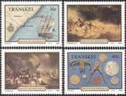 Transkei 1988 Grosvenor/ Ships/ Shipwrecks/ Wrecks/ Boats/ Transport 4v set (b1319)