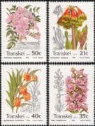 Transkei 1990 Orchid/ Lily/ Flowers/ Nature/ Plants/ Environment/ Conservation 4v set (b9977)