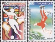 Tunisia 1978 World Cup/ Argentina/ Football/ WC/ Sports/ Games 2v set (n30955)