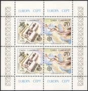 Turkey 1982 Europa/ Trade/ Commerce/ Business/ Silk Route/ Buildings/ Architecture/ Maps 4v m/s (n33892)