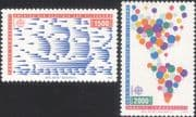 Turkey 1992 Europa/ Columbus/ Sailing Ships/ Boat/ Transport/ Exploration/ Animation 2v set (b6225n)