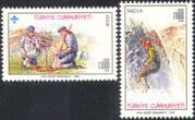 Turkey 1992 Scouts/ Scouting/ Camp/ Trees/ tree Planting/ Mountain Climbing/ Leisure 2v set (n26075)
