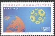 Turkey 1996 Industry/ Map/ Earth/ Globe/ Commerce/ Business/ Trade 1v (n25598)
