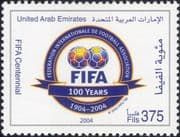 UAE 2004   FIFA 100th Anniversary/ Football/ Sports/ Games/ Soccer 1v (n19698)