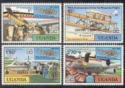 Uganda 1979 Planes  /  Flight  /  Aircraft  /  Aviation  /  Transport  /  Cattle  /  Commerce 4v n40261
