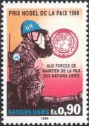 UN (G) 1989 UN Peace Keeping/ Nobel Peace Prize/ Soldiers/ Army/ Military 1v (n45894)