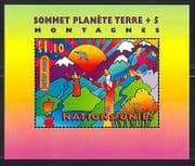 UN-G 1997 Earth Summit  /  Environment  /  Mountains m  /  s n31665