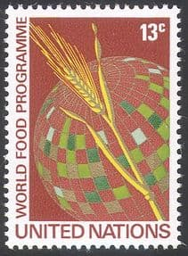 UN (NY) 1971 World Food Programme/ Freedom From Hunger/ FAO/ FFH/ Wheat/ Crops 1v (n41731)