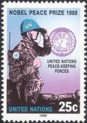 UN (NY) 1989 UN Peace Keeping/ Nobel Peace Prize/ Soldiers/ Army/ Military 1v (n45892)