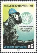 UN (V) 1989 UN Peace Keeping/ Nobel Peace Prize/ Soldiers/ Army/ Military 1v (n45896)