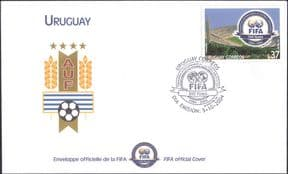 Uruguay 2004  FIFA 100th Anniversary/ Football/ Sports/ Games/ Soccer  1v FDC  (n17624h)