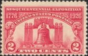 USA 1926  Liberty Bell/ Independence/ Exhibition/ People/ Heritage  1v  (us1037)