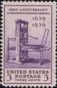 USA 1939  Printing Press/ Print/ Books/ Newspapers/ Communication/ History 1v (n46269)