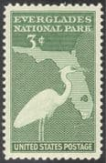 USA 1947 Great Blue Heron/  Wildlife/ Nature/ Birds/ Conservation/ Environment/ maps 1v (n42952)