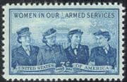 USA 1952 Military/ Armed Services/ Women/ Uniforms/ Army/ Navy 1v (n43326)