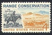 USA 1961 Horses  /  Cattle  /  Nature  /  Animals  /  Farming 1v n29206