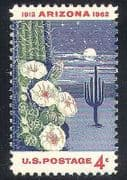 USA 1962 Cactus  /  Plants  /  Flowers  /  Nature 1v (n24616)