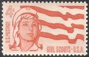 USA 1962 Girl Scouts USA 50th Anniversary/ Guides/ Guiding/ Scouting 1v (n42828)