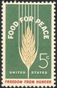 USA 1963 Food Programme/ Freedom From Hunger/ FAO/ FFH/ Wheat/ Crops 1v (n43428)