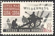 USA 1964 American Civil War/ Wilderness/ Cannon/ Military/ Battles 1v (n43619)