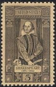 USA 1964 William Shakespeare/ Author/ Writers/ Playwright/  Writing/ Theatre/ Drama/ Plays/ Actors/ Acting 1v (n43432)