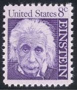 USA 1965 Albert Einstein  /  Scientists  /  Physics  /  Science  /  People  /  Space 1v (n40104)