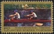 USA 1967 Thomas Eakins/ Art/ Painter/ Artists/ Paintings/ Rowing/ Sports 1v (n44742)