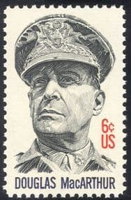 USA 1971 General Douglas MacArthur/ Army/ WWII/ Military/ War/ People 1v (n43330)