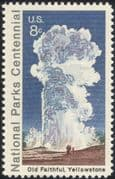 USA 1972 Geyser/ Yellowstone/ National Parks/ Environment/ Conservation 1v (n44745)