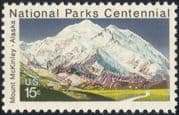 USA 1972 Mt McKinley/ Mountains/ National Parks/ Environment/ Conservation 1v (n37270)