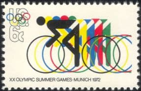 USA 1972 Olympic Games/ Olympics/ Cycling/ Bikes/ Bicycles/ Sports/ Transport 1v (n24372)
