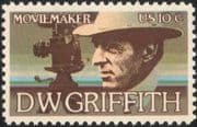 USA 1975 D W Griffith/ Film/ Cinema/ Movies/ Arts/ People/ Entertainment 1v (n44744)