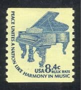 USA 1975 Piano/ Musical Instruments/ Music 1v coil (n44094)