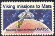 USA 1978 Space/ Viking/ Mars/ Science/ Spacecraft/ Research/ Transport 1v (n43438)
