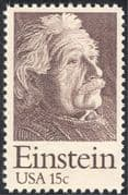 USA 1979 Albert Einstein/ Scientists/ Physics/ Science/ People/ Space 1v (n43422)