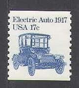 USA 1981 Electric Car  /  Transport  /  Motoring  /  Cars  /  Inventions  /  Motors 1v (n25713)