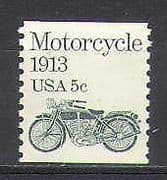USA 1981 Motorcycle  /  Bikes  /  Transport 1v coil (n24148)
