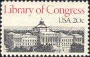 USA 1982 Library of Congress/ Buildings/ Architecture/ Books/ Heritage 1v (us1022)