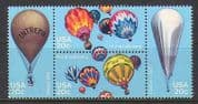 USA 1983 Hot Air Balloons  /  Aviation  /  Flight 4v blk n20317