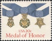 USA 1983 Medal of Honour/ Military/ Army/ Navy/ Air Force/ Medals/ Honours 1v (us1017)