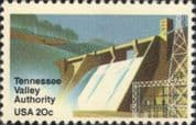 USA 1983 Tennessee Valley Auth'ty/ Norris Dam/ Hydro-Electricity/ Energy/ Power/ Buildings 1v us1024