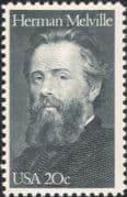 USA 1984 Herman Melville/ Writer/ Literature/ Books/ Writers/ People 1v (us1011)